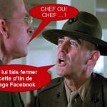 La « grande muette » serait-elle en train de se propager comme règle obligatoire à tous les membres des familles de militaire ?