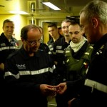 François Hollande, pacha du «Terrible» pendant 3 heures