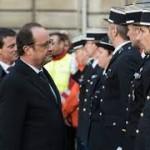 Le président de la République rend hommage aux forces de sécurité intérieure