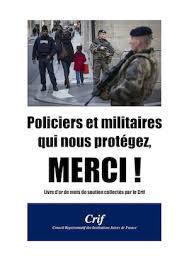 Respect aux militaires