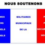Lettre  d'une française au Ministre de la Défense et au Ministre de l'Intérieur.