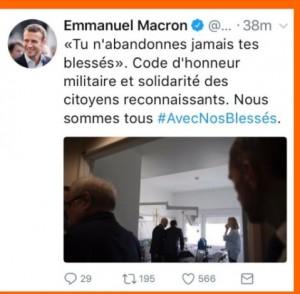 Tweet président de la République