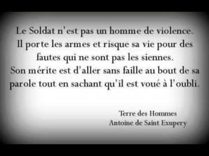 Citation Antoine de saint Exupéry