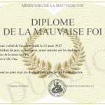 La mauvaise foi au sein de la Gendarmerie Nationale:  Malhonnêteté intellectuelle ou terrorisme intellectuel?