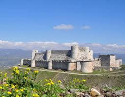 Syrie Le Krak des chevaliers il y a 900 ans