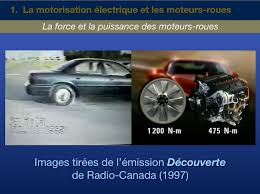 Radio Canada découverte moteur roue