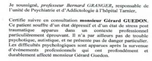 Professeur GRANGER Bernard