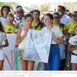 Une marche blanche a été organisée en l'honneur de la gendarme tuée dans le Lot-et-Garonne
