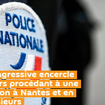 Une foule agressive encercle des policiers procédant à une interpellation à Nantes et en blesse plusieurs