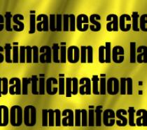 Discours de politique générale, déclarations de la cheffe de l'IGPN sur les violences policières, estimation de la participation à l'acte 31 des Gilets jaunes.. Le point à 15h30